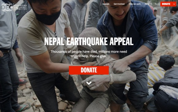 Disasters Emergency Committee, UK