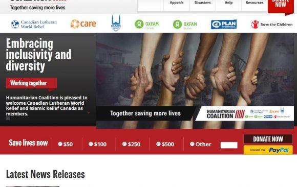 Humanitarian Coalition, Canada